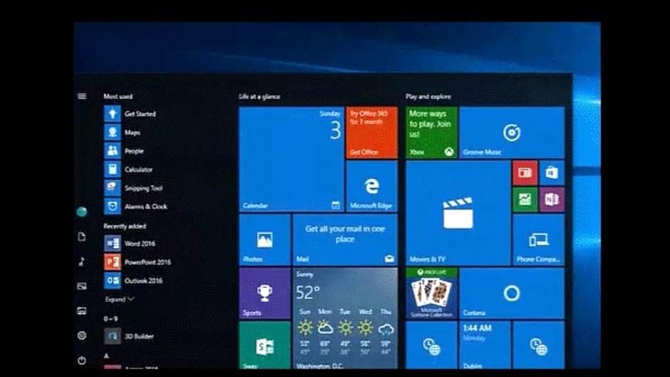 Windows menja Start meni