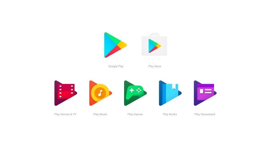 Nove Google Android ikonice