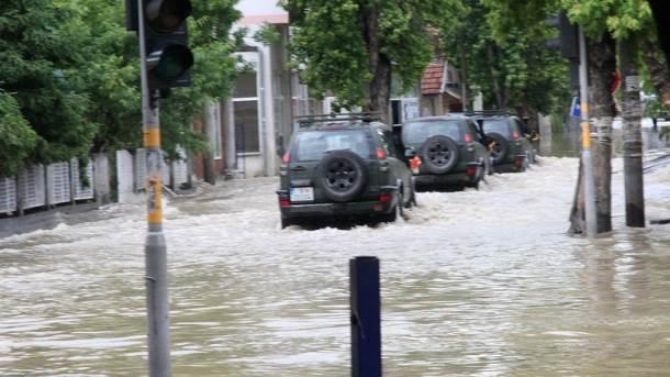 Vojska Crne Gore, poplava, Srbija, Obrenovac