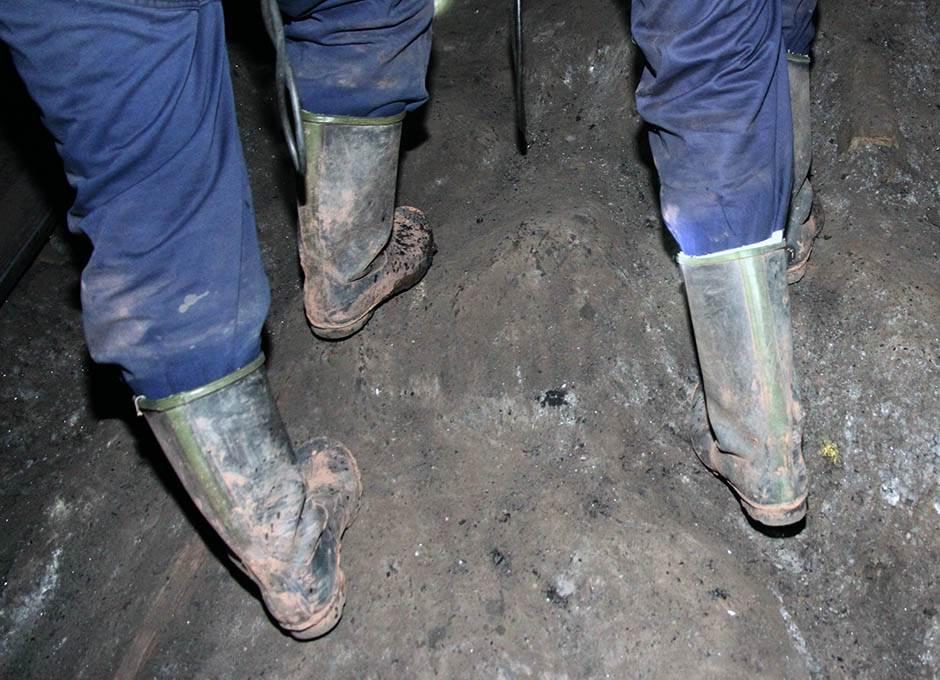 čizme, rudnik ,rudari, poplava, čizme za vodu, gumene čizme