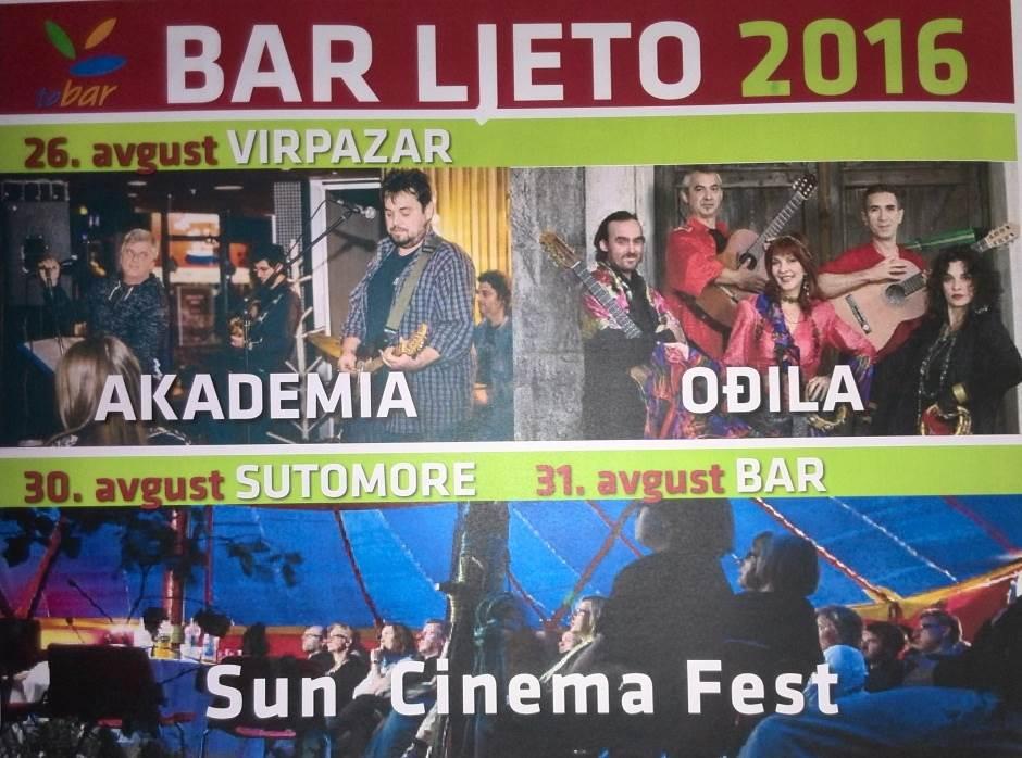 Ljeto sa zvijezdama u Baru: Nina, Sergej, Halid...
