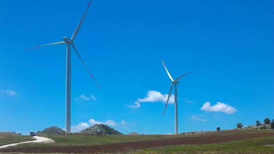 Krnovo vjetroelektrane