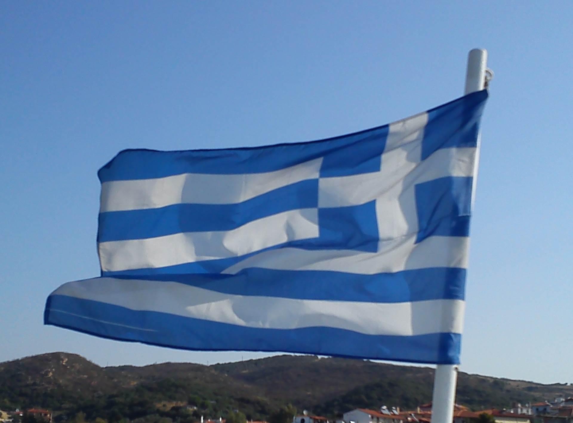 grčka grci grčka zastava letovanje letovanja