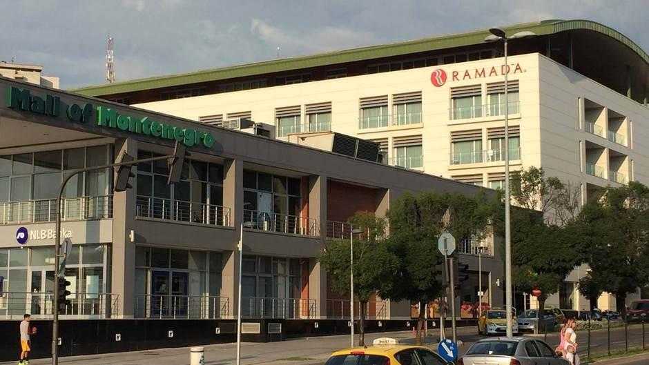 Ramada, hotel, Mall of Montenegro, Gintaš