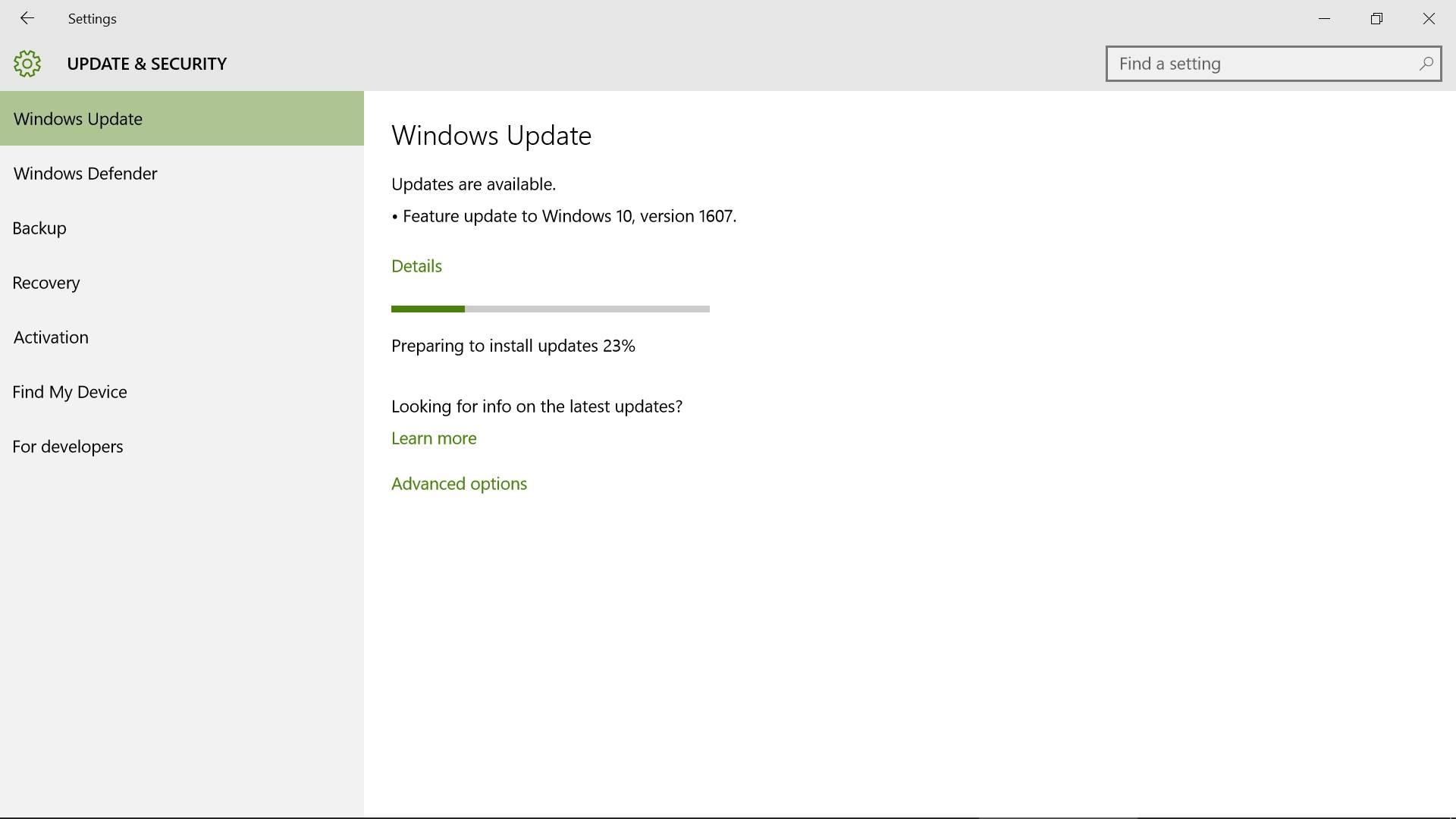 Ispravljena najveća Windows 10 boljka