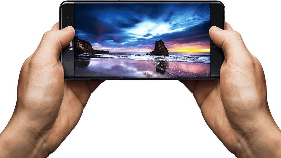 Samsung Galaxy Note 7, ekran, ekran telefona,