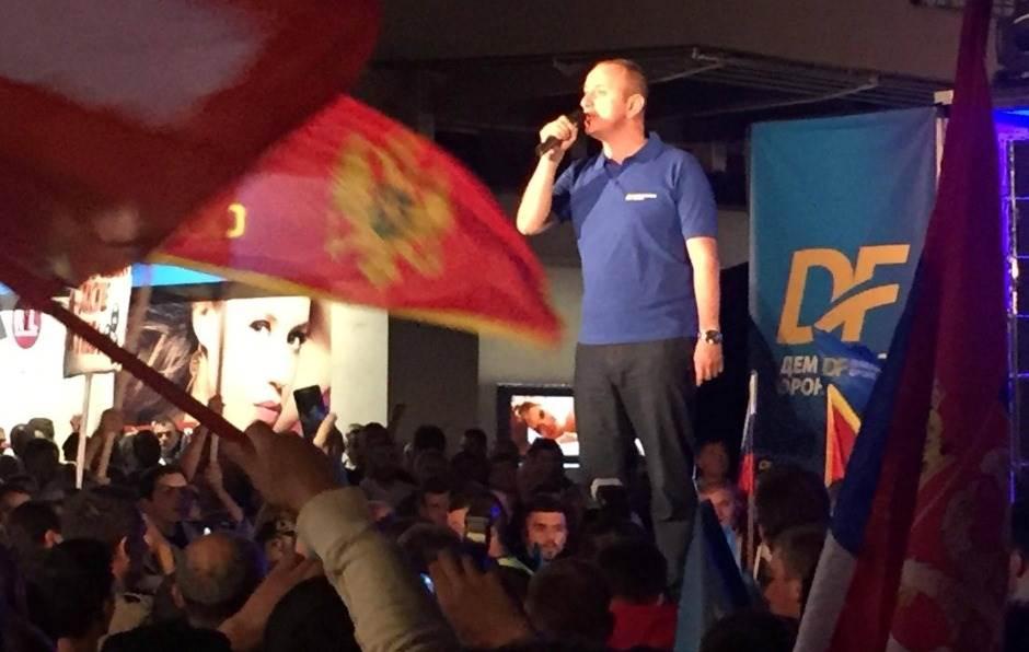 DF protest Knezevic knežević