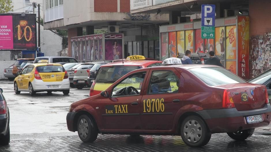 centar taxi taksisti taksi Podgorica