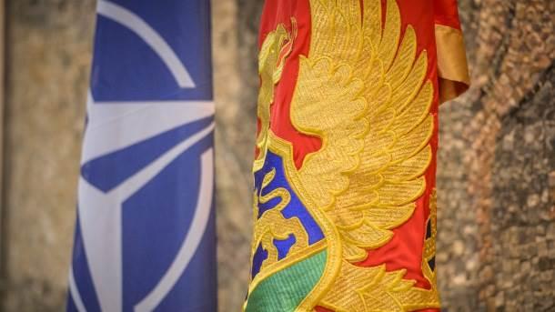 zastava, Crna Gora NATO