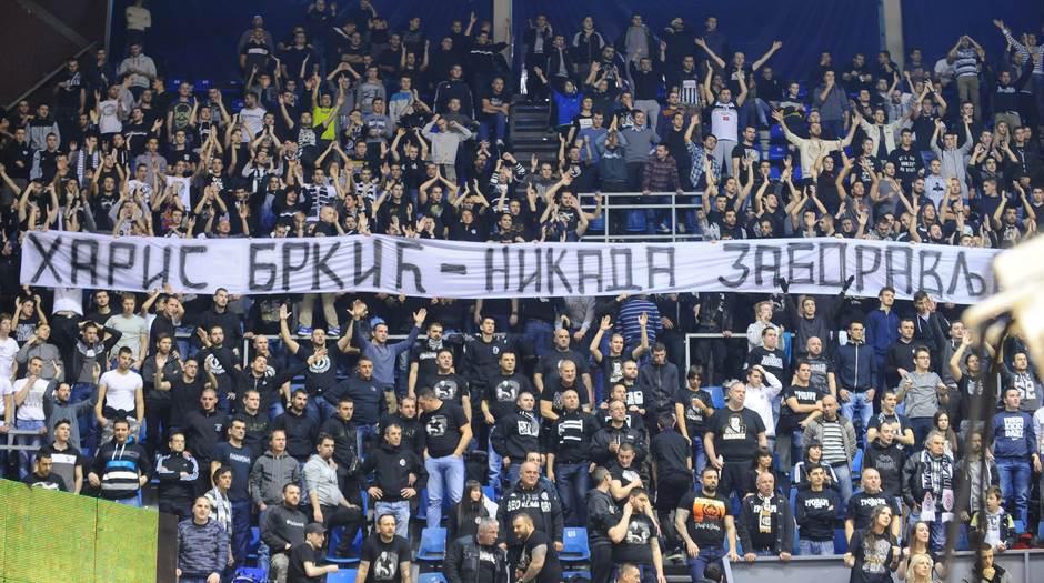 Haris Brkić Grobari Partizan