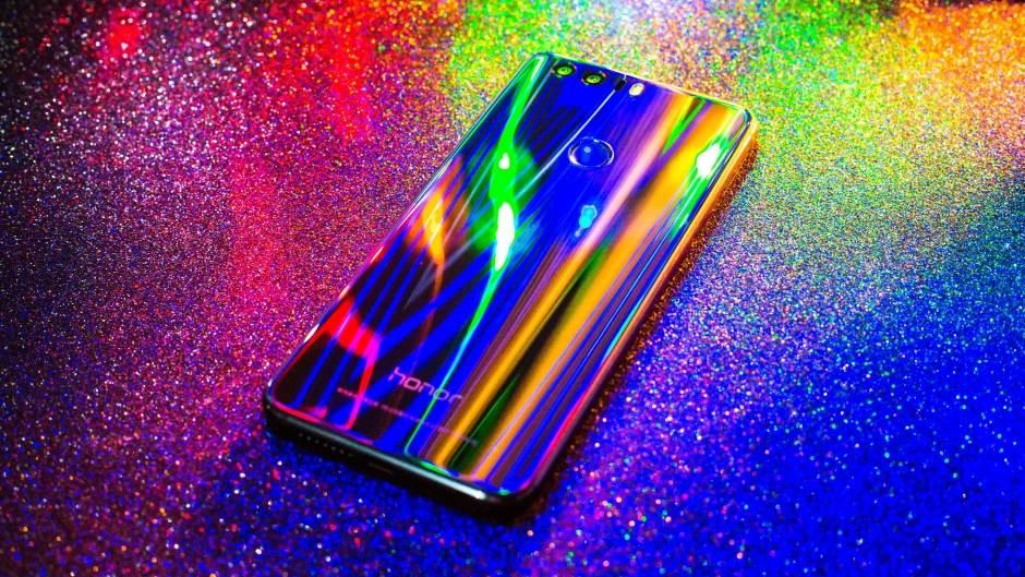 Honor 8, Android, Pokrivalica, Duga, Boje, Eksplozija boja