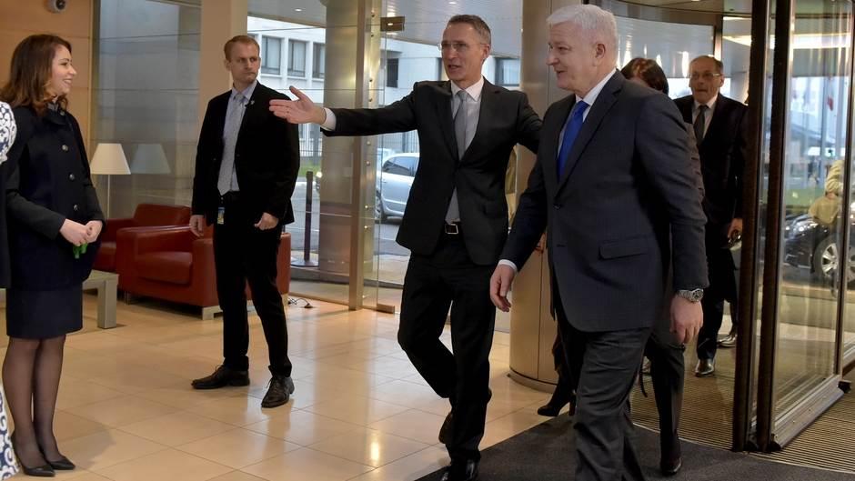 Marković u Briselu Stoltenberg Duško Markovic evropska unija Brisel