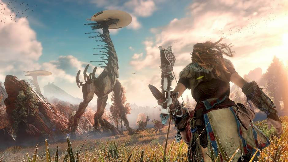 video igre, igre, playstation 4, sony, horizon zero dawn