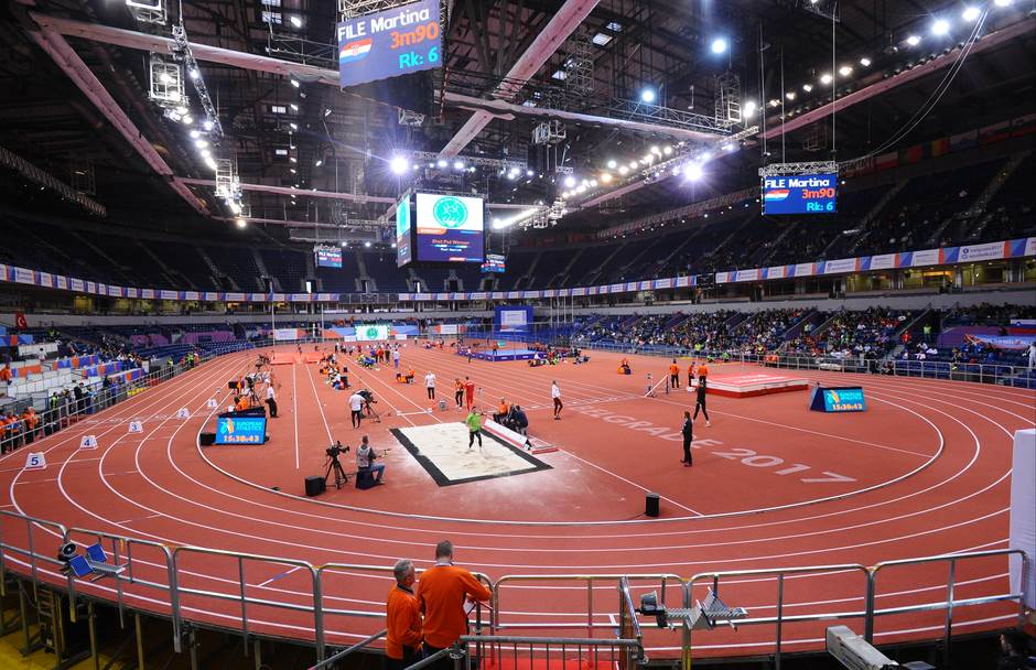 Atletika u Kombank areni