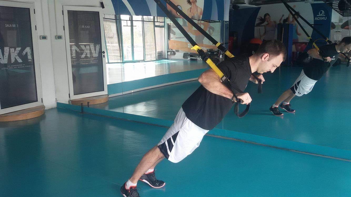 Probajte Vukašinov TRX trening! (FOTO, VIDEO)