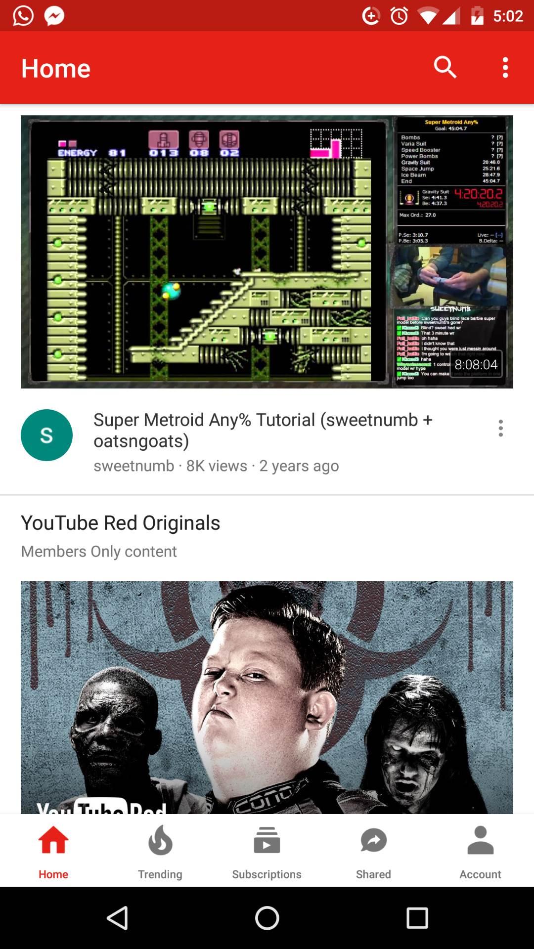 Ovo je nova YouTube aplikacija
