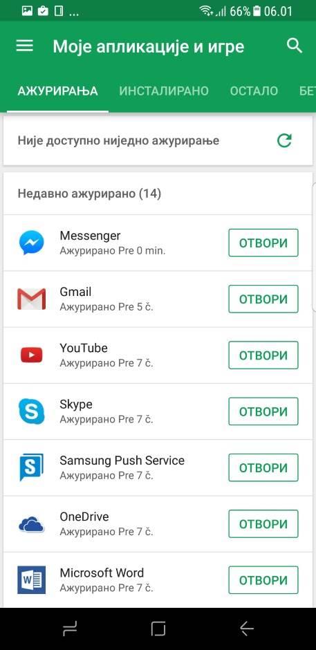 Google Play prodavnica ima novi izgled (FOTO)
