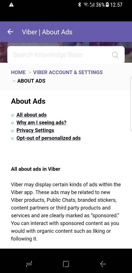 Viber (ipak) poceo da prikazuje reklame