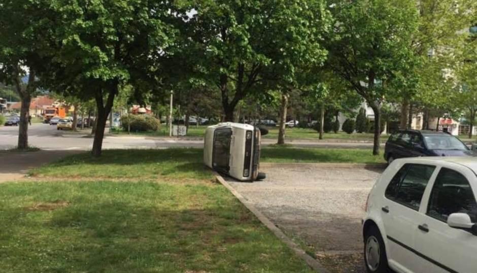 E ovo je racionalno parkiranje u Podgorici! (FOTO)