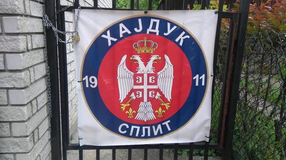 Grb Hajduka sa srpskim orlovima!? (FOTO)
