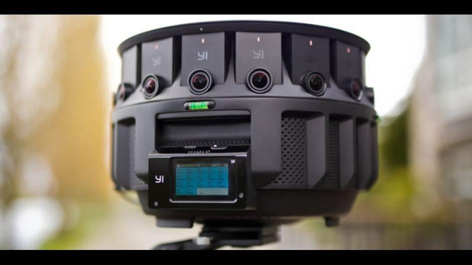 Yi Halo, kamera, 360 stepeni, sistem 17 kamera, yi, xiaomi, gogle, google jump