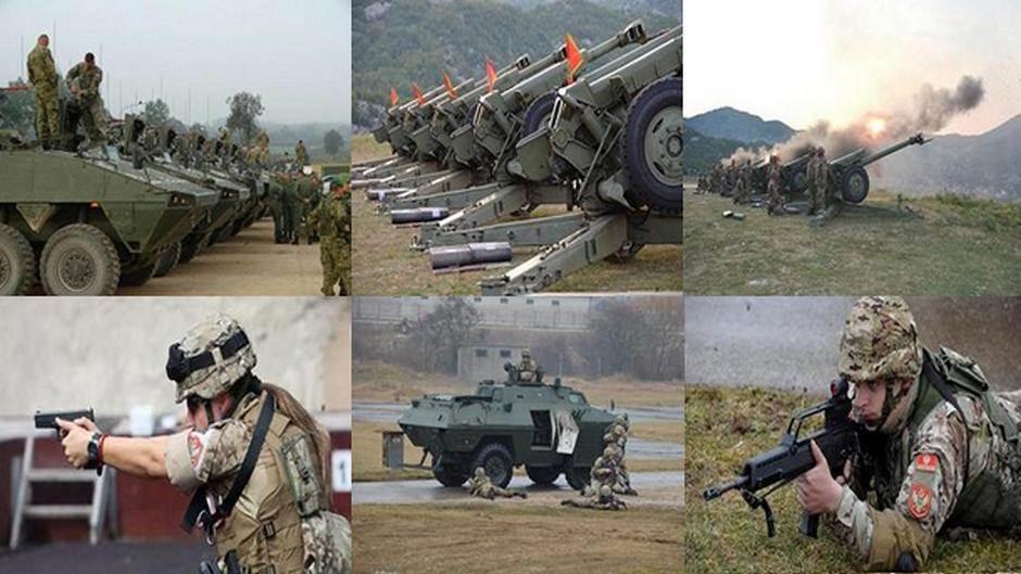Kako postati profesionalni vojnik VCG (FOTO,VIDEO)