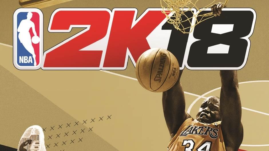 NBA 2K18: Najava igre, Šakil O'Nil na omotu!