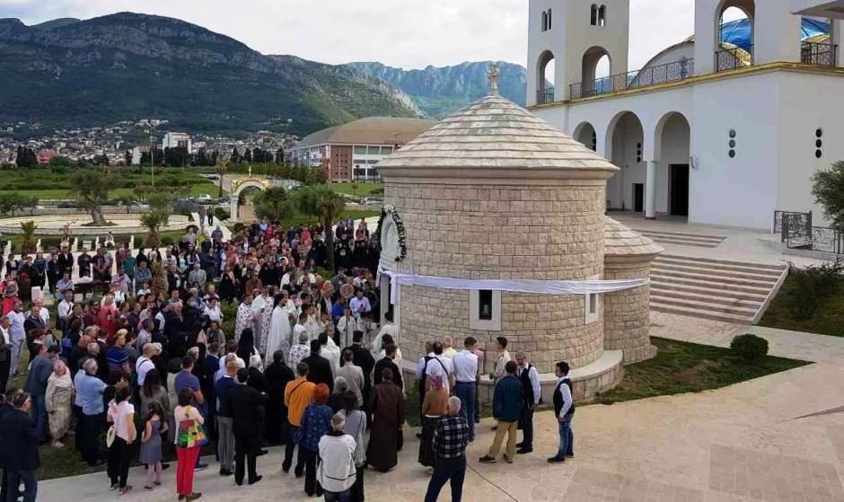 Osveštenje hrama Lovćenskog Tajnovidca