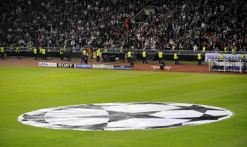Partizan, Liga šampiona, mušema, mušema za Ligu šampiona