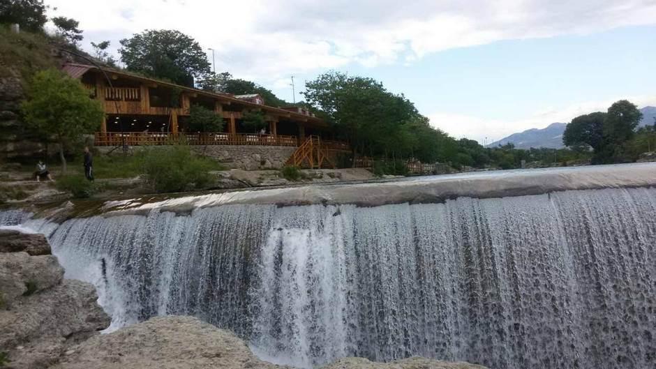 Cijevna Nijagarini vodopadi Podgorica vodopad rijeka