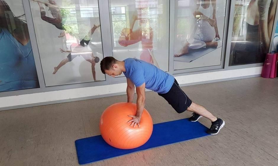 Trening sa fitnes loptom! (FOTO, VIDEO)
