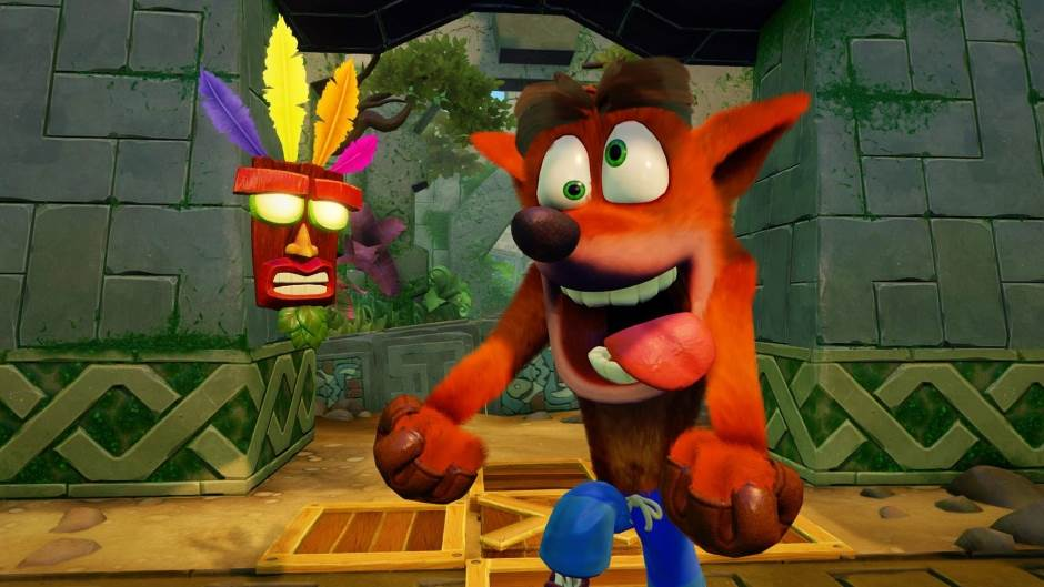 Naughty Dog, Crash Bandicoot