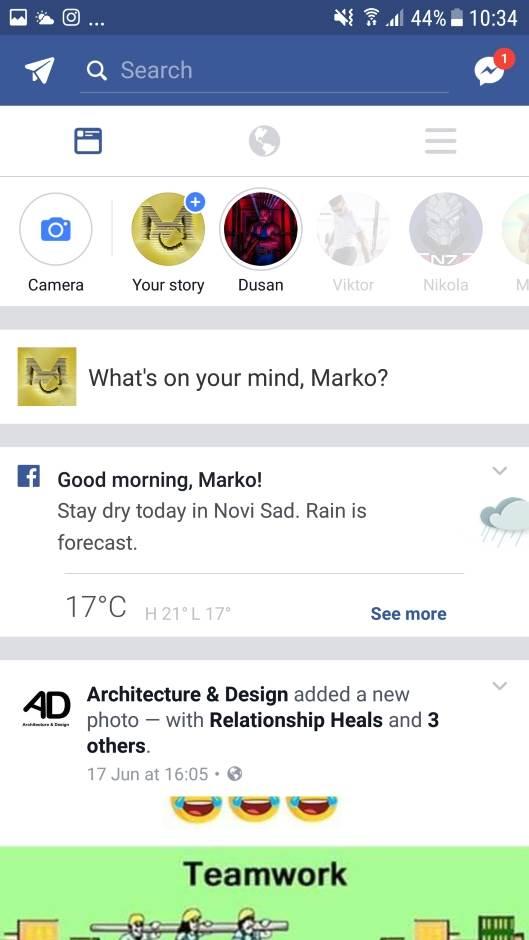 Facebook ne griješi? Provjerite prognozu!