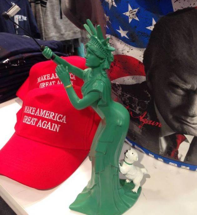 njujork, kip slobode, suveniri