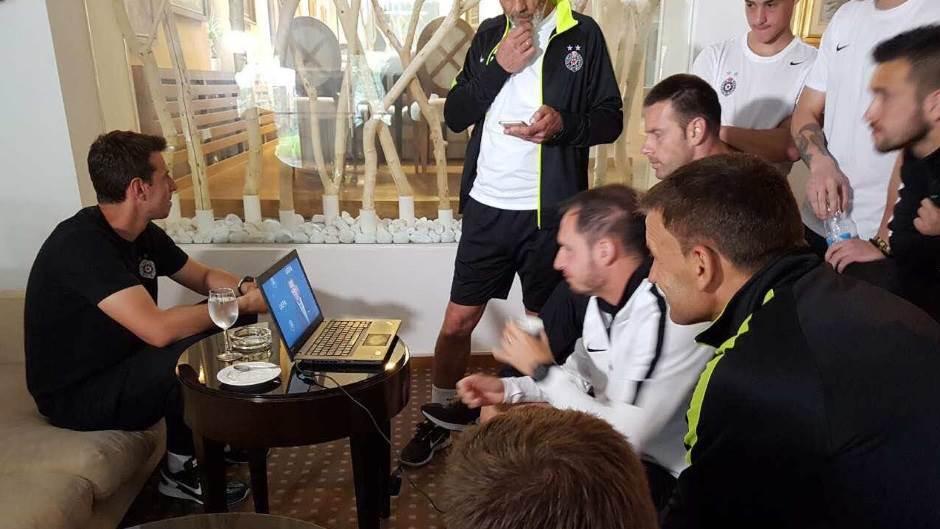 Partizan, žreb za Ligu šampiona