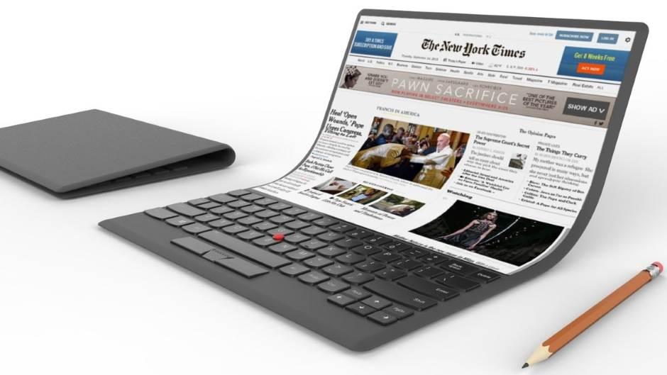 Lenovo TechWorld konferencija, Laptop, Fleksibilan, Fleksibilni, Ekran, Displej, Savitljiv, Savitljivi