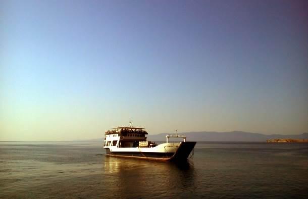 grčka brod trajekt hodošašće sveta gora atos