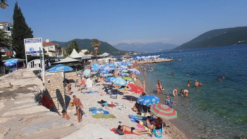 plaža more Herceg Novi Savina