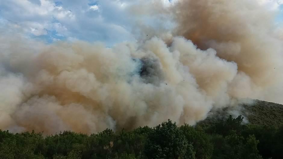 Sutomore: Požar pod kontrolom! (FOTO, VIDEO)