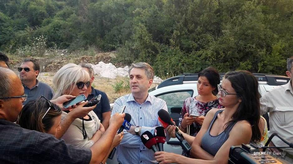 Ministar na Luštici: Međunarodna pomoć do večeras!