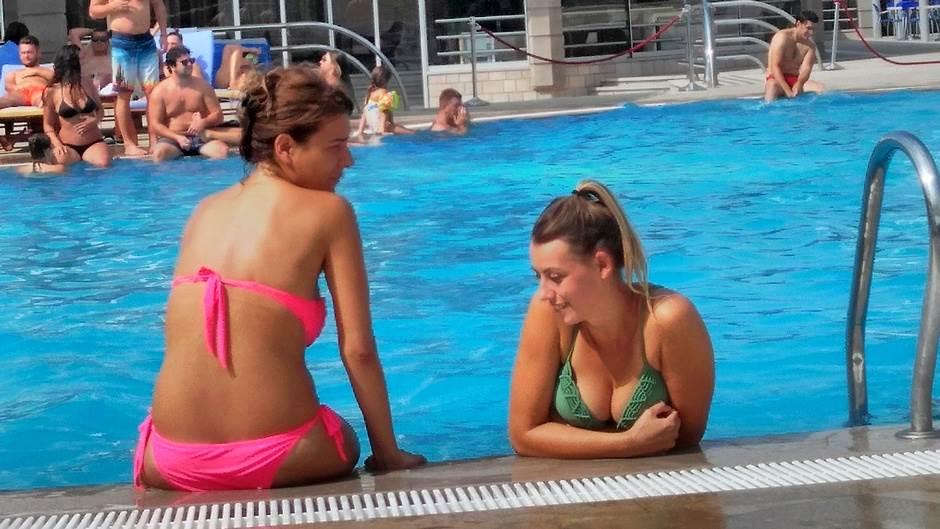 bazen ljeto kupaći