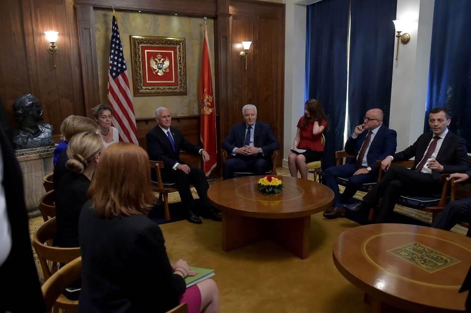 Pens: SAD i Crna Gora prijatelji i partneri