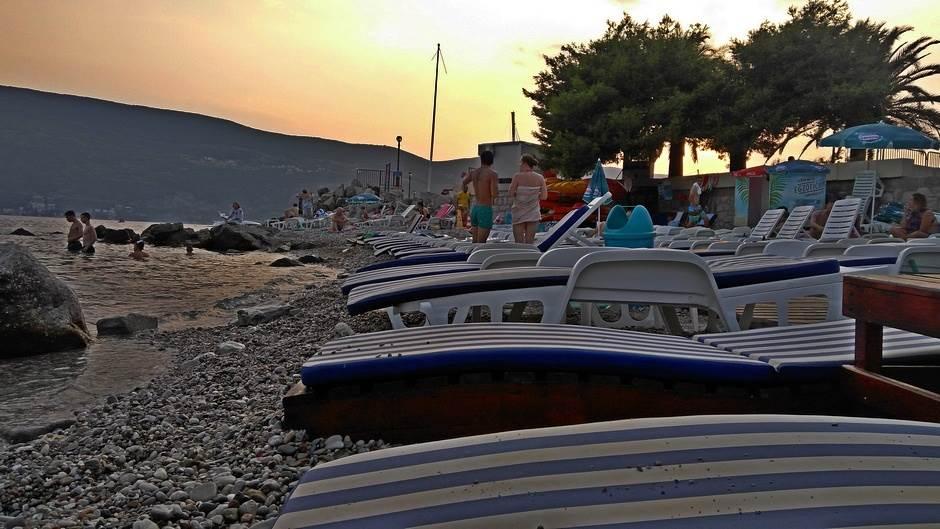 plaža more Herceg Novi