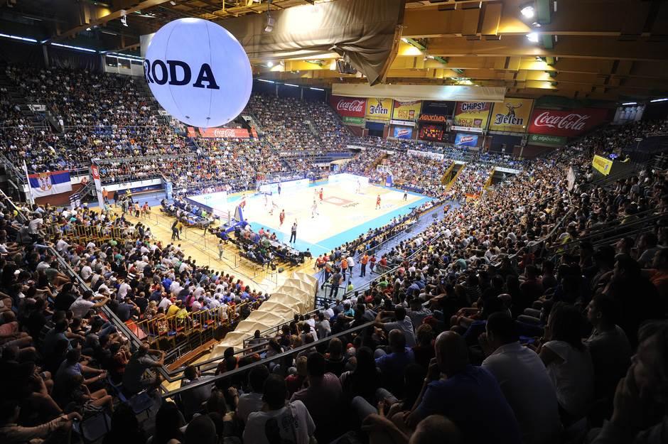 Dvorana Aleksandar Nikolić Pionir košarka