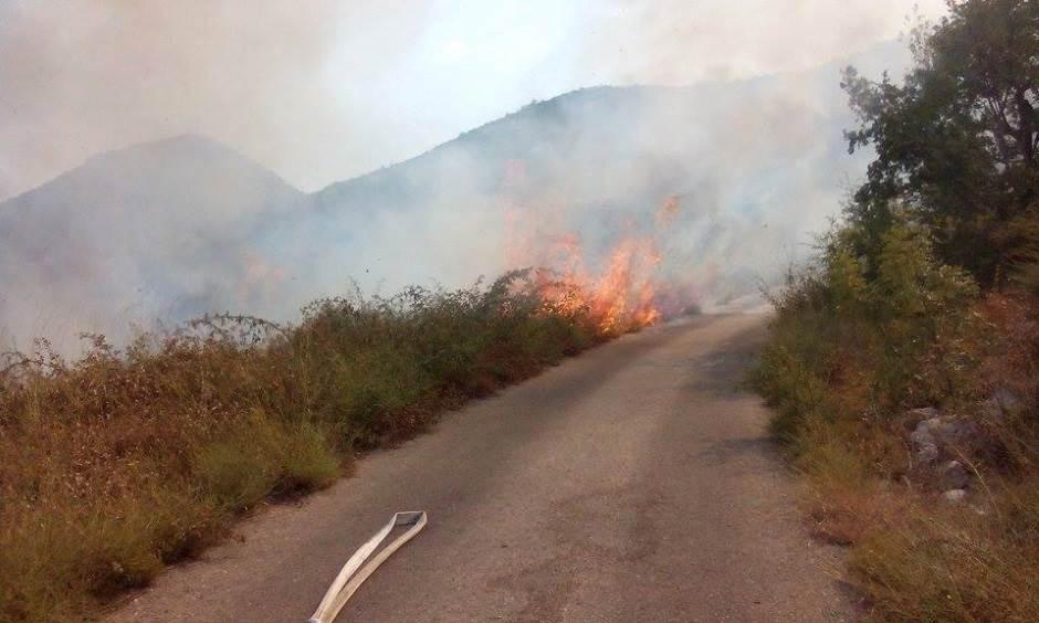 požar u Crmnici
