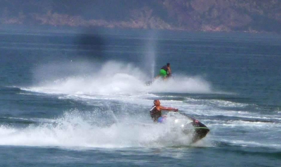 Nesreća na Pivskom jezeru: Prevrnuo se skuter