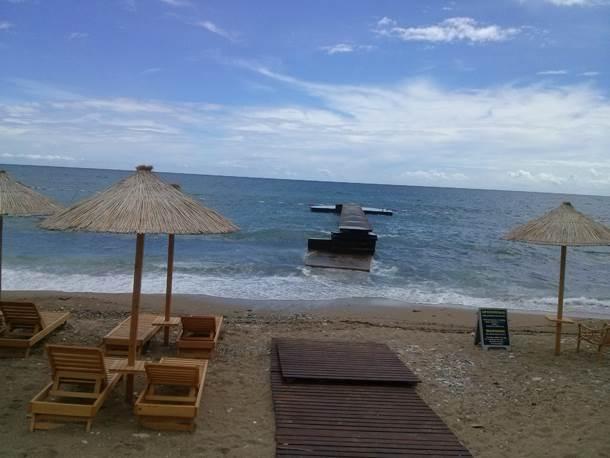 Budva, more, plaža, Crna Gora