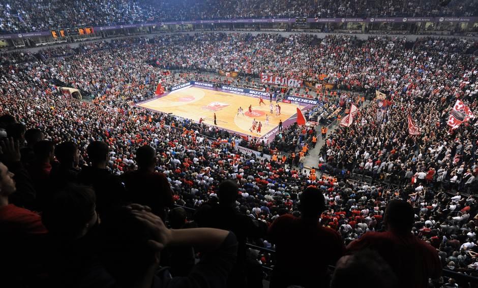 arena navijači delije košarka tribine