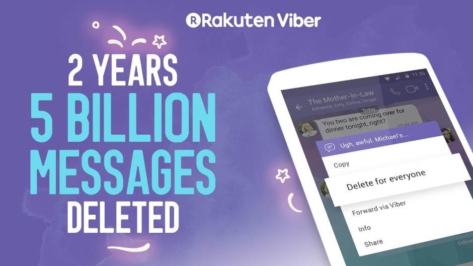 Viber nas poštedeo pet milijardi blamova!