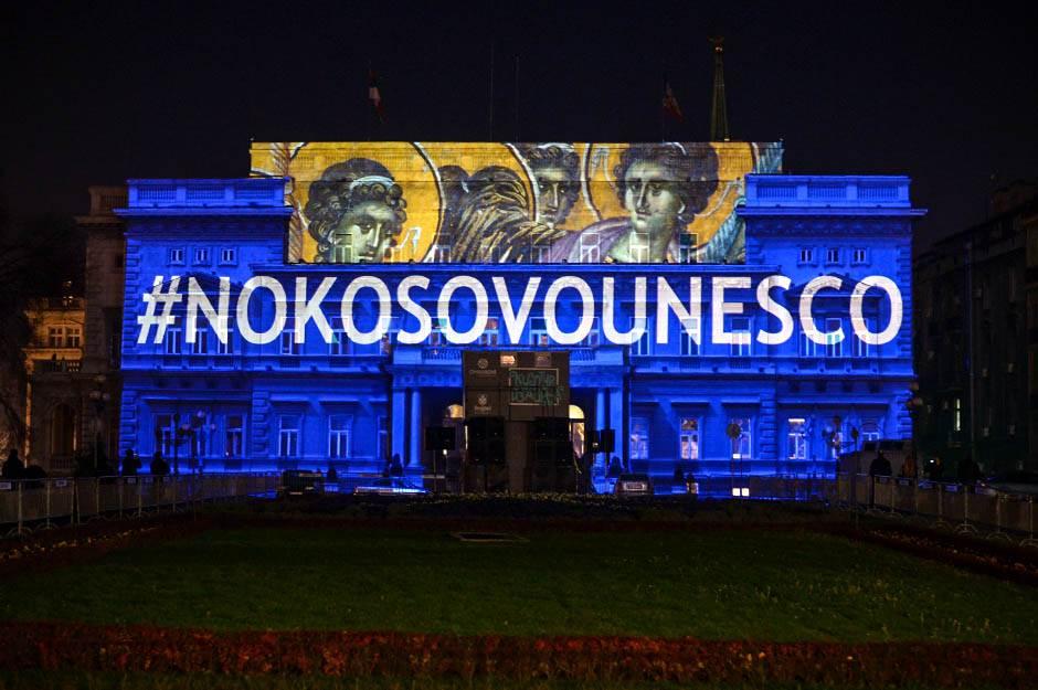 no kosovo unesco, ne kosovo unesco, kosovo unesko, unesco, kulturizacija, beogradm stari dvor, 4d, srpsko nacionalno blago, kosovo i metohija